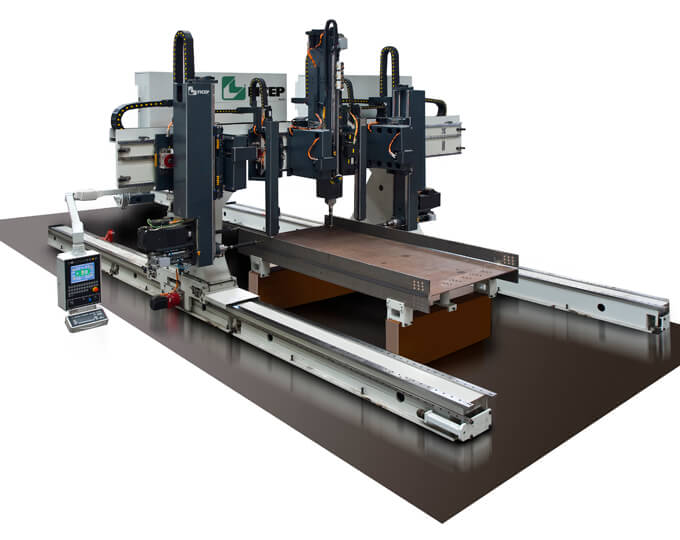 Gantry Beam Drilling and Milling lines