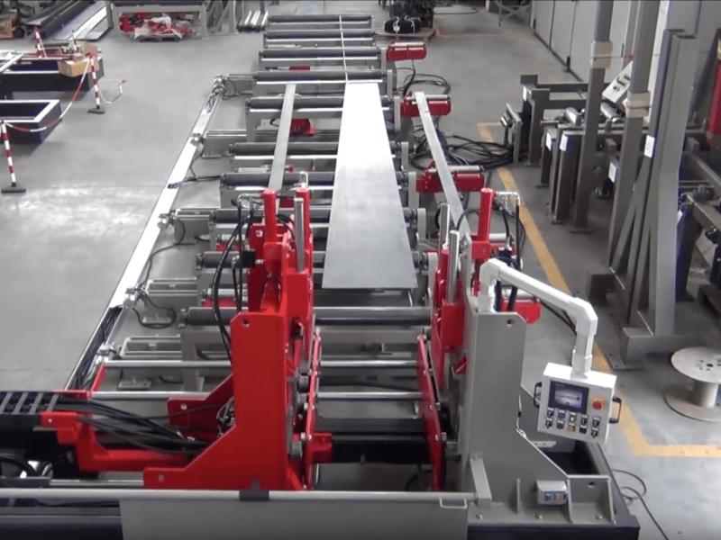 Beam welding lines – Horizontal type